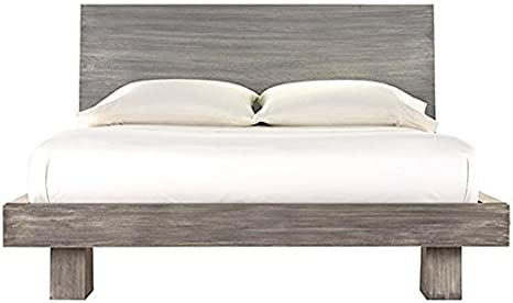 Amazon com zen bed queen driftwood kitchen dining
