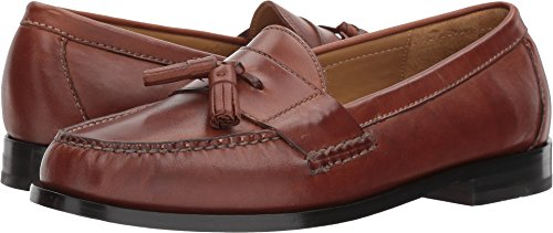 Cole Haan Pinch Tassel Loafer Mens - Saddle Tan 12 D(M) US by Cole Haan