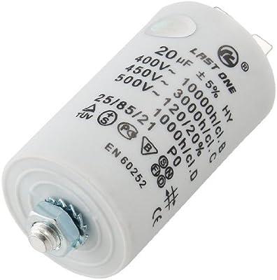 DealMux AC 450V 20UF 8 mm Rosca Lavadora de funcionamiento del ...