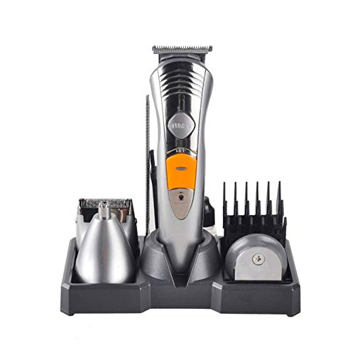 HJKLJ Hair Grooming Kit for Men Women Hair Clippers Sideburn Precision Trimmer 4 in 1 Electric Razor Kit Cordless with 3 Guide Combs - 1 Comb Grooming 4in