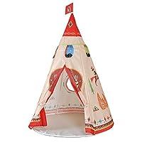 Loisleila Teepee Tente Indienne de Jouet pour Enfant intérieur ou extérieur