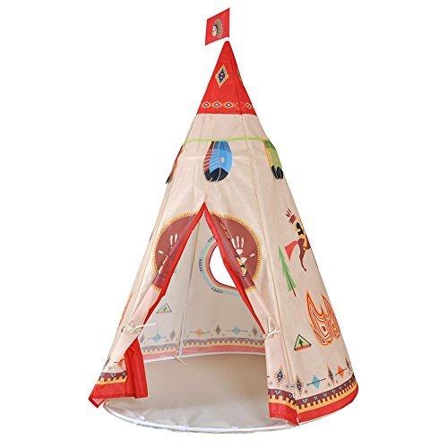 Loisleila Teepee Tente Indienne de Jouet pour Enfant intérieur ou ...