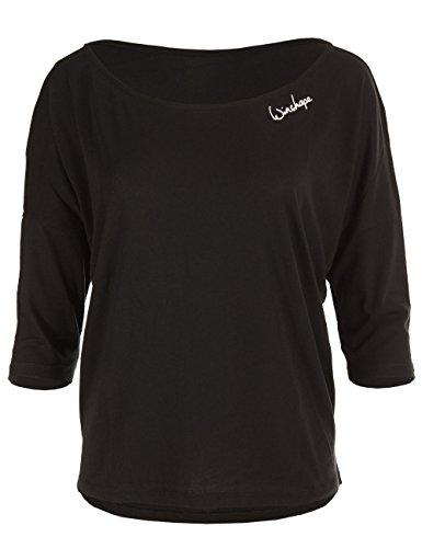 WINSHAPE Mcs001, damesshirt met 3/4-mouw, ultra licht modal-shirt met 3/4-mouw