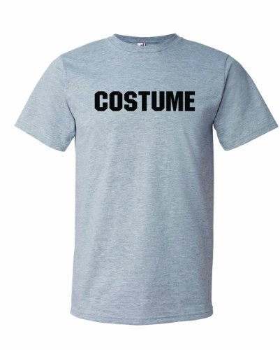 [Men's COSTUME. This Is My Generic Halloween Costume. T-Shirt-Sport Gray-Medium] (Mileys Halloween Costume)