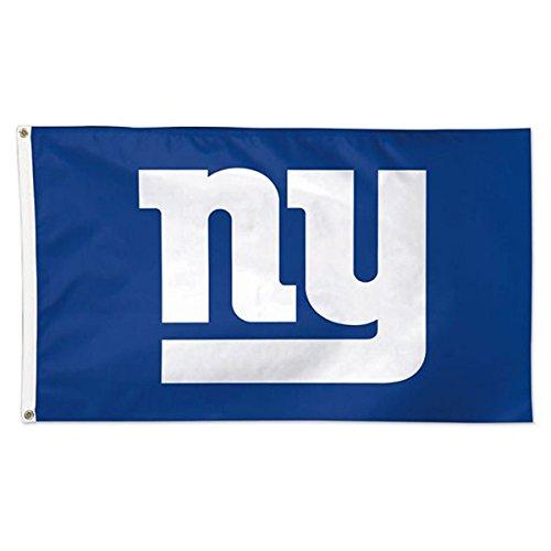WinCraft NFL New York Giants 01818115 Deluxe Flag, 3' x 5'
