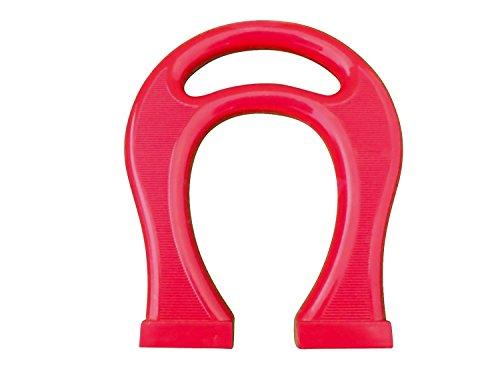 Magnet Horseshoe Red (Large Plastic Horseshoe Magnet 8
