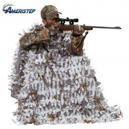 - Ameristep Snow Hunter 3-D Chair and 3-D Cover System, Realtree APS