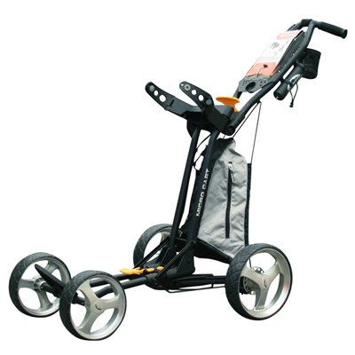Sun mountain micro push cart black