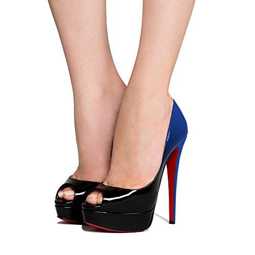Kantiohihnakengät Sandaalit Kengät Peep Merumote Toe Naisten Korkokengät 8y51awnUq