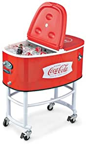 Coca - Cola Rolling Party Cooler