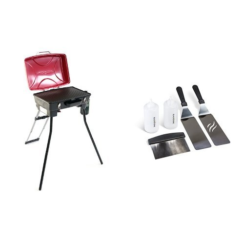 Cheap  Blackstone Dash Portable Gas Grill and Griddle Combo with Griddle Kit