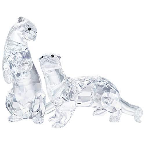"Swarovski Crystal ""Otters"" Figurines New 2018"