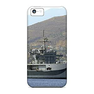 Bernardrmop Case Cover For Iphone 5c - Retailer Packaging Uss Mount Whitney Protective Case