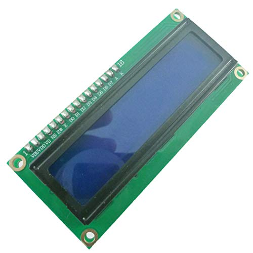 MF Audio Decoder LCD 1602 Display Module for Fixed Telephone Mobile Phone keypad Key Value Shows Smart Home (DTMF Display, 1) ()