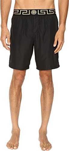 Versace Men's Iconic Nylon Swim Short, Black 1, 3/SM for sale  Delivered anywhere in USA