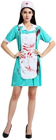 Xinqin Ding Bloody Zombie Doctor - Disfraz de médico de cirugía ...