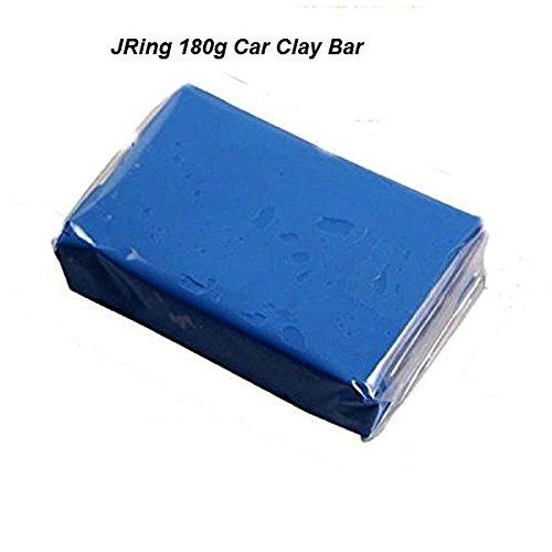 JRing Clay Bar Kit Barra Dell'argilla Dell'automobile di 180g, Detergente Professionale Della Barra Dell'argilla di Detailing Auto Professionale per le Automobili dei Motociclette 91