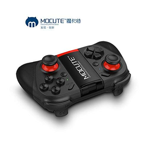 Morjava Mocute 050 Wireless Game Controller Phone Gamepad for Android Smartphones TV/PC Controller 3D VR Headset Remote Control Bluetooth Joystick-Black