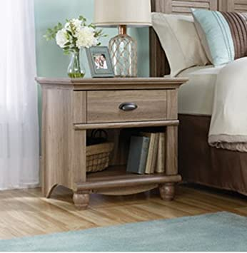 Amazon Com 1 Drawer Nightstand Table End Table Night Stand Small