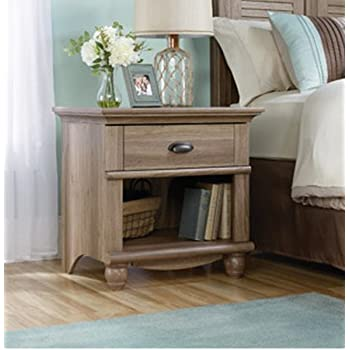 1 Drawer Nightstand Table End Table Night Stand Small Organizer Storage  Bedroom Home Furniture Open