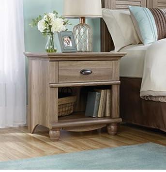 Amazon.com: 1-Drawer mesa auxiliar Mesita de noche Mesa de ...