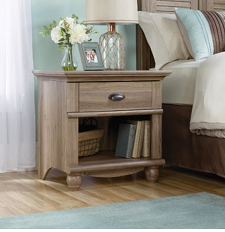 1-drawer Nightstand Table End Table Night Stand Small Organi