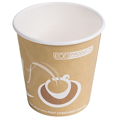 Eco Products EP-BRHC10-EW Evolution World PCF 10 oz. Paper Hot Cup 50/Pack