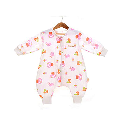 (Baby Sleep Sack Cotton Wearable Blanket Toddlers Pajamas for Winter(style7/L(31.5-35.4in)))