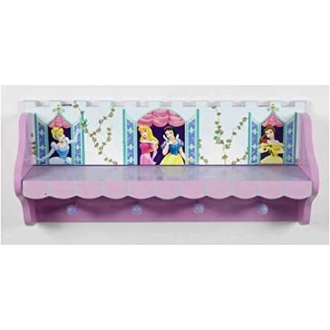 Amazon.com: Disney Princess perchero estante: Kitchen & Dining