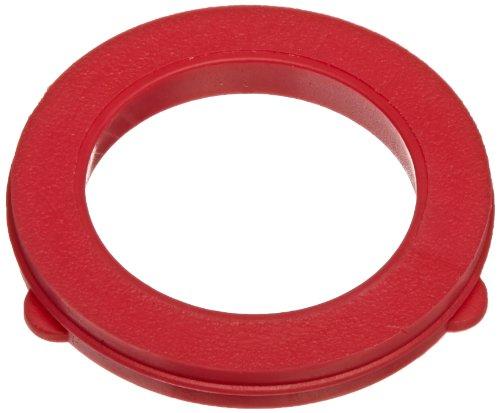 Vinyl Coupler - Dixon Valve & Coupling TVW7 Red Vinyl Tuff-Lite Washer for Garden Hose Fitting (Pack of 100)
