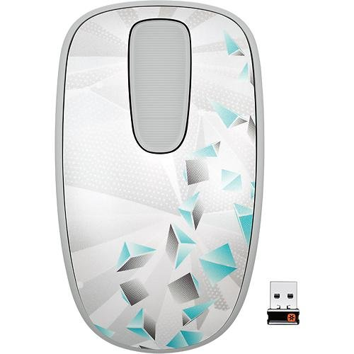 Logitech T400 Zone Touch Mouse for Windows 8 - Prism (910-003667)