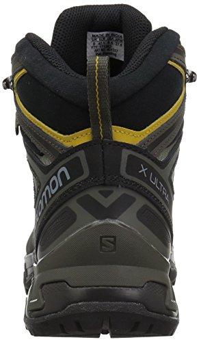 Salomon Hommes X Ultra 3 Mi Gtx Trail Chaussure De Course Castor Gris