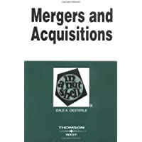 Mergers and Acquisitions in a Nutshell (Nutshells)