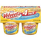 KRAFT VELVEETA SHELLS & CHEESE DINNER CUPS 2% MILK 4 CT by N/A