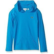 Lacoste boys Boy Lpng Sleeve Hoody T-shirt