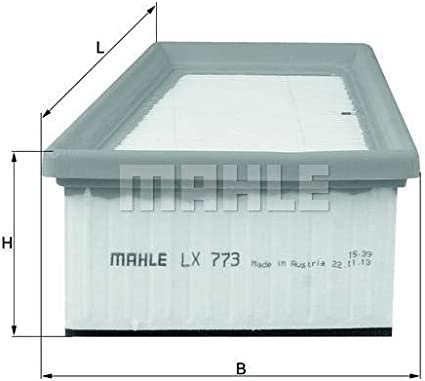 Mahle Knecht Lx 773 Luftfilter Auto
