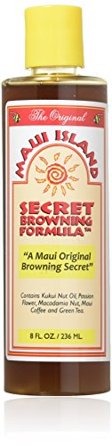 Maui Island Secret Browning Formula 8 Oz. (Suntan Formula Brown)