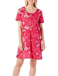 Womens Butterfly Henley Leisure Dress