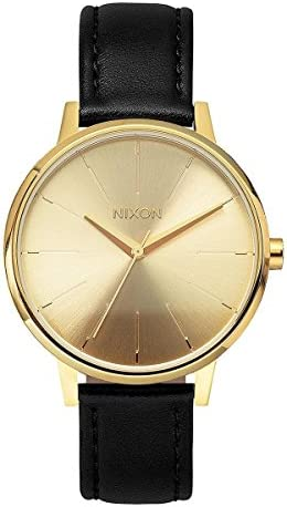 Nixon Women s Quartz Watch Analogue Display and Leather Strap A108501-00