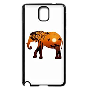 UNI-BEE PHONE CASE For Samsung Galaxy NOTE4 Case Cover -Animal Elephant Pattern-CASE-STYLE 11