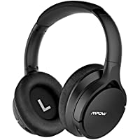 Mpow H4 [Upgraded] Bluetooth Headphones Over Ear, with Custom Personalized Sound APP, aptX Hi-Fi Headset, Wired & Wireless Headphones w/ mic, Protein Earpads Headset for Cell Phone/ TV/ PC
