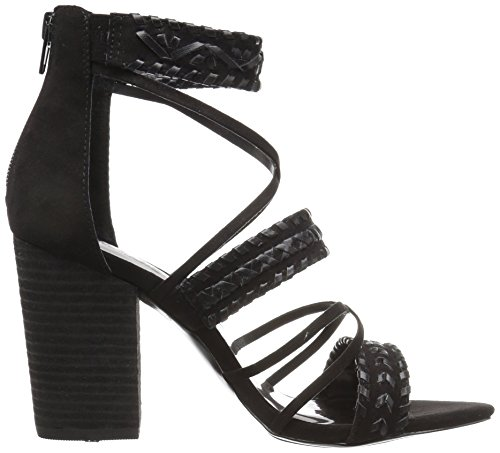 Carlos by Carlos Santana Womens Java Heeled Sandal Black MrOXF