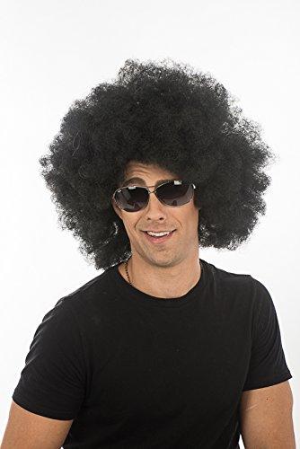 Halloween Cosplay Super Jumbo Afro Black Dynamite Hair Party Wig H0017 (Black Dynamite Halloween Costume)