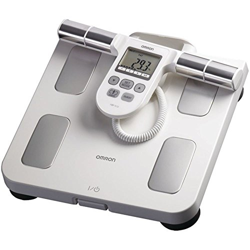 OMRHBF510W - OMRON HBF-510W Full-Body Sensor Body Composition Monitor Scale (White) by Omron
