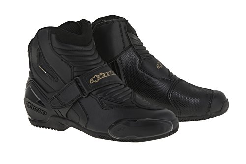 Alpinestars Women's 2224616-185-39 Boots Black/Silver/Yellow Size 39 ()