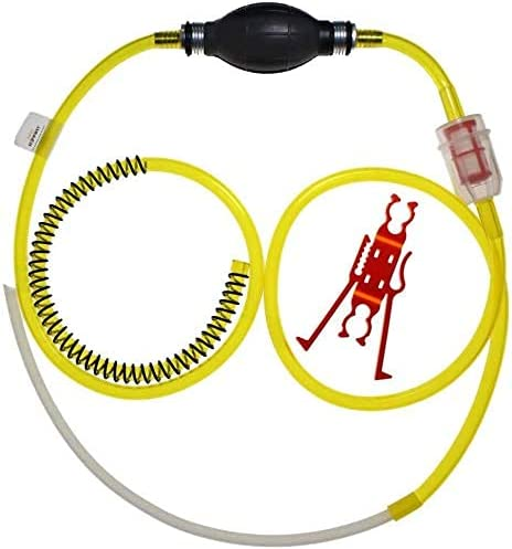 GasTapper G.T Power Equipment Fluid Extractor Pump for Gas, Oil, Water, Anti-Freeze Great on Lawnmowers, Power Equipment, Motorcycles - USA Assembly & Hose - Click at top of This Page for Full Store