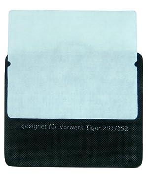 und Feinfilter geeignet für Vorwerk Tiger 250 Motorschutz