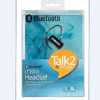 - CELLULAR INNOVATIONS TALK2 LT-200 BLUETOOTH UNIVERSAL HEADSET BLACK