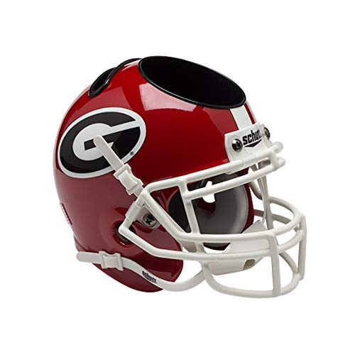 (Schutt Sports Georgia Bulldogs Football Helmet Desk Caddy)