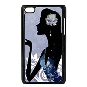 iPod Touch 4 Case Black girly 77 FY1519931